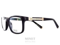 Marque de luxe incontesté Zilli lance sa première collection de lunettes. Les Zilli 60004 c01 sont faites avec le même savoir faire et le même taux d'exigences que les vêtements de la marque. Grandes lunettes pour homme en acétate de cellulose noire. Les branches sont griffée du logo Zilli en métal doré et recouvertes de cuir. Matériaux d'exception qui a fait la renommée de Zilli Maison familiale française fondée à Lyon en 1965, Zilli est reconnue comme référence par les esthètes amateurs de produits rares et de qualité. La nouvelle collection eyewear présente les codes de l'élégance sophistiquée qui caractérisent depuis toujours le style exclusif de la Maison Zilli, associés aux technologies d'avant-garde et aux matériaux hautement sélectionnés avec des détails signatures comme le titane ou le cuir.