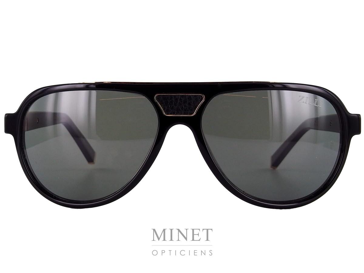 8115af2d5a2743 Lunettes solaires pour hommes, les Zilli 65003 sont de grandes lunettes de  soleil de forme