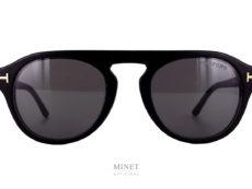 Les Tom Ford Tf 54363 sont de très belles lunettes en acétate de forme originale et ayant un clip solaire aimanté très pratique. La particularité de ce clip est qu'il est recouvert de cuir donnant à l'ensemble une finition très luxueuse. Si vous cherchez une paire de lunettes de luxe, originale et super pratique, la Tom Ford TF5433 munie de son clip est faites pour vous.