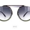 Les Thierry Lasry Ghosty sont de belles lunettes de soleil qui combinent le métal et l'acétate de cellulose. Le style pilote mais sans le double pont en font une monture originale