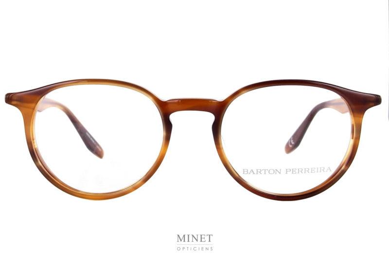 Barton Perreira Norton. Lunettes optique de couleur écaille de tortue. De forme pantoscopique et de style vintage.