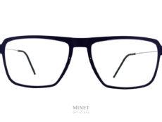 Les Lindberg n.o.w. 6563 sont de grandes lunettes optiques pour hommes. La face en polycarbonate est d'inspiration vintage tandis que les branches sont en pure titane extrêmement fine et résistante.