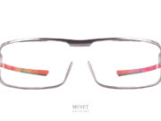 McLaren Solaires ULTIMATE SERIES 4. lunettes optique impression 3D de titane. Fine, solide et légères. les branches plates et souples seront parfaites pour être portées dans un casque