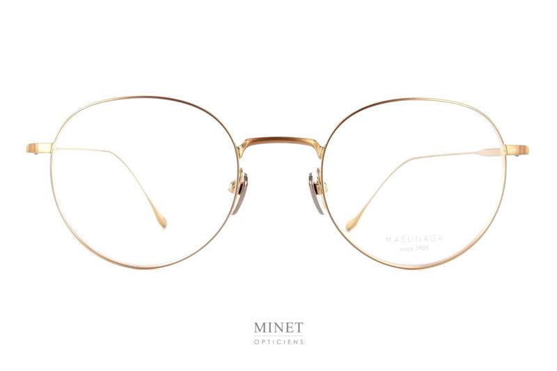 Les Masunaga Chord C sont des lunettes pantos en titane japonais haut de gamme . Les matériaux et la finition sont exceptionnelle, de vrais lunettes de luxe.