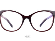 Oscar Magnuson Lisa. lunettes dames de forme papillon. Grandes montures aux lignes très pure dessinées par Oscar Magnuson.