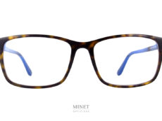 Si vous cherchez un lunettes rectangulaire, pour homme, classique et très chic en même temps. La Tom Ford TF 5584 est faites pour vous.