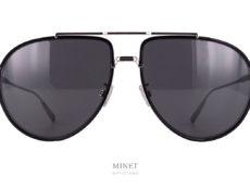 Christian Dior Black Suit Au. Lunettes de soleil pilote. Grande classique mais, au combien, intemporelle La pilote reste LA solaire pour hommes.