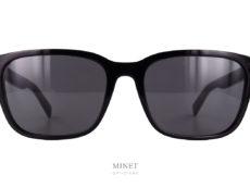Christian Dior Black Suit SI. Lunettes solaires rectangulaires pour hommes. La forme est classique mais très élégante.