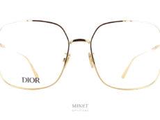 Dior Black Suit O SU. Grandes lunettes pour hommes en métal. Les lunettes Christian Dior SU ont un style vintage complètement assumé. Alors si vous aussi vous voulez revivre la grande époque des années 80 mais avec des montures revisitées et modernisées, n'hésitez pas et foncez sur cette superbe paire de lunettes optiques.