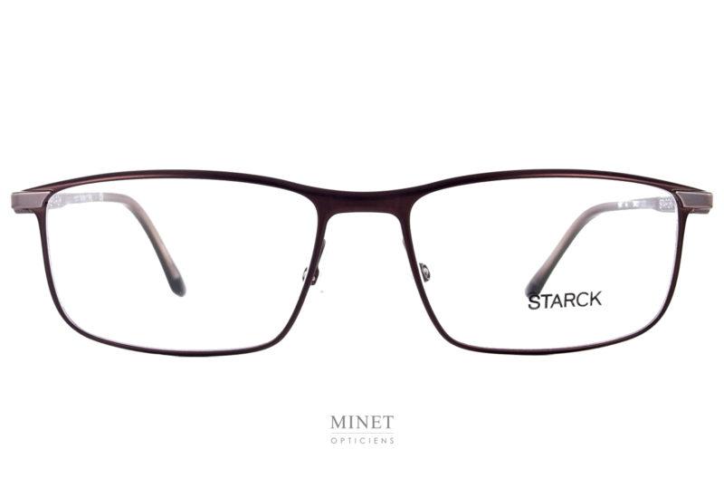 Starck SH2047 brunes, Starck eyes ou Biovision car Starck s'inspire de la nature. Voici, enfin, les nouvelles lunettes Starck. Toujours dessinées de lignes pures. Le design épuré est et restera toujours la marque de fabrique de Philippe Starck.