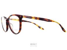Les Barton Perreira Kandel sont des lunettes optiques dames de formes papillon et de couleur écaille de tortue. C'est un modèle classique mais plus léger que les autres grâce à son armature qui est en titane. Contrairement aux autres marques qui les font en acier.