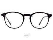 Les Masunaga GMS-07 noires sont de très belles lunettes en acétate de cellulose de très haute qualité, fait à base de cellulose naturelle de bois..