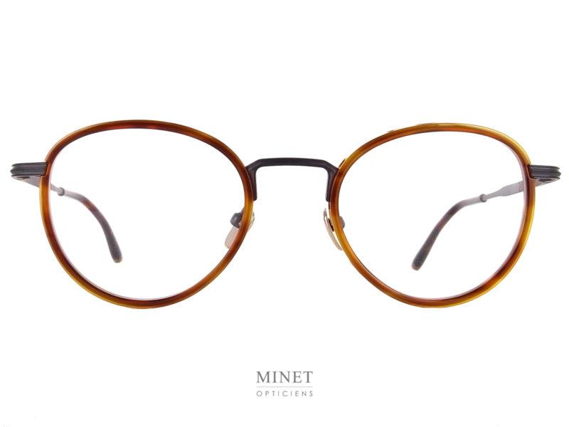 Superbes lunettes optiques combinées. Les Masunaga by Kenzo MIZAR sont de très belles montures en titane gravées a l'ancienne, légères et solides.