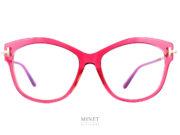 Les montures Tom Ford TF5705-B sont de très belles lunettes de luxe pour dames. Ces lunettes ont un joli contraste entre la grande face épaisse et les longues branches fines en métal. On y trouve, d'origine, des verres filtrant la lumière bleu des écrans. Donc, si vous n'avez pas besoin de verres correcteurs elle sont déjà prêtes a être utilisées pour le travail sur écrans.