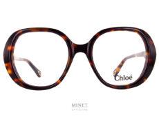 Très jolies lunettes oversized en acétate de cellulose. Très stylées et légèrement rétro. De quoi ravir votre style vintage.